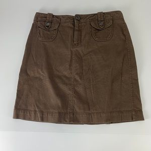 Old Navy Sz 10 Straight Brown Skirt Pencil Fall